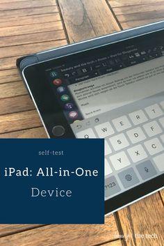 Ich wollte mal endlich einen Selbstversuch starten und mein iPad mehr nutzen als ich im letzten Beitrag erklärt habe. Es ist ein Konsumgerät, doch ich möchte mal die Szenarien... Selbstexperiment: iPad als All-in-One Device