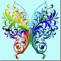 Center butterfly