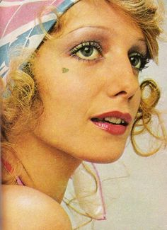 1972 makeup fashion for Seventeen magazine.