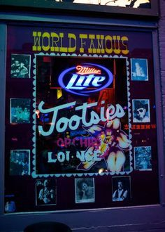 11 Cool Places in Nashville You Really Must Visit including the World Famous Tootsies Orchid Lounge! Weekend In Nashville, Nashville Vacation, Visit Nashville, Tennessee Vacation, Nashville Tennessee, Visit Tennessee, Nashville Bars, Nashville Downtown, All I Ever Wanted