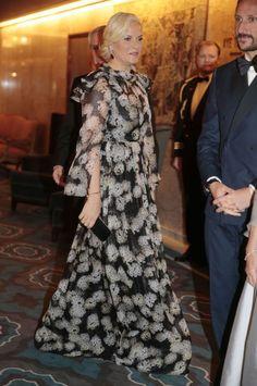 Royal Families, 10 12, Royal Family, Oslo Norway, 122, 014, It Puts Marit, Gala Dinner, The Royals