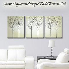 SALE Wall Painting Canvas Art Hangings Original by ToddEvansArt