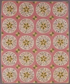 4. Circle And Stars Quilt