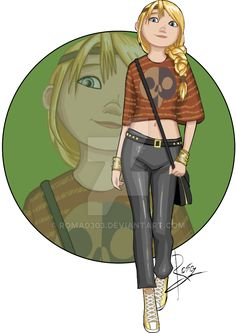 DreamWorks University - Astrid by Roma0303.deviantart.com on @DeviantArt