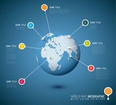 Globe Infographic template by Orson on @creativemarket