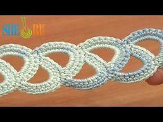 ▶ Easy to Crochet Tape Tutorial 8 Beginner Level - YouTube