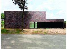 eva : mooi (gevel + strakke lijnen) // Mijn Huis Mijn Architect - Projectgegevens Natalie De Smet