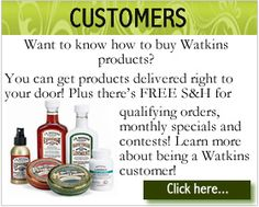 New web design to help visitors find what they are looking for - fast!  Customers, Come and explore all that you can truly buy (natural products) and more .... http://watkinsonline.com/kathrynkrastin