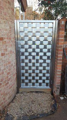 Stainless Steel Gate( Garden gate,Gate,Screens, Stylish,Contemporary,Modern) in Garden & Patio, Garden Fencing, Garden Gates | eBay