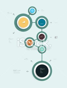Simply infographic step by step template Royalty Free Stock Vector Art Illustration