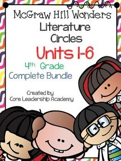 Thinkmark Literature Circle graphic organizer ~ Unit 1~6 Bundle~There are 4 different levels approaching, on, ell, and advance for each Unit! Great for literacy centers! Enjoy!Unit 1~ 24 organizersUnit 2~ 24 organizersUnit 3~ 24 organizersUnit 4~24 organizersUnit 5~24 organizersUnit 6~ 24 organizers