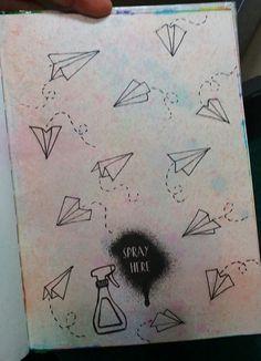 "Anti Journal ""Spray here"" #AntiJournal"