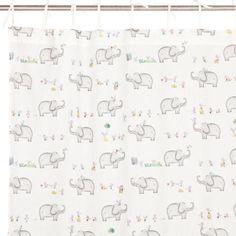 Cortinado Algodão Elefantes e Ratos - Tapetes e Cortinas - Cama   Zara Home Brasil