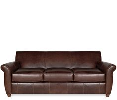 The Big Bang Theory Couch Manhattan Leather Sofa From Pottery Barn Products I Love Pinterest
