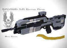 LEGO Halo 4 Battle Rifle Replica by Nick Jensen 1