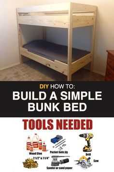 Idea, secrets, including manual with respect to obtaining the most ideal end result and attaining the max use of bunk bed designs Cabin Bunk Beds, Loft Bunk Beds, Bunk Bed Plans, Bunk Beds Built In, Modern Bunk Beds, Bunk Beds With Stairs, Kids Bunk Beds, Building Bunk Beds, Bunk Beds For Girls Room