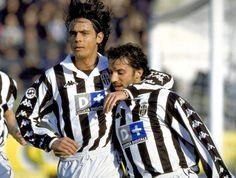 che copia! Alessandro Del Piero e Pippo Inzaghi #juventus #juve #delpiero #inzaghi