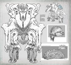 Kaiju Concept Art for Pacific Rim  tumblr_mrahx0PaII1qmdvnjo2_1280.jpg (1100×1000)