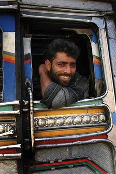 Kashmir truck driver