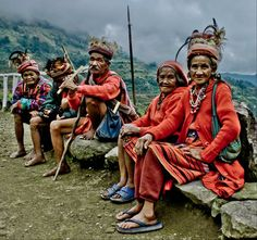 In Ifugao Province, Philippines. I danced with them, felt like a giant. 1981