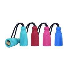 <p>From tug-of-war to hide and seek, our Rubber Tassel Dog Toy does it all! Harry Barker durable rubber dog chew toys are smartly designed from natural non-toxic rubber and are 100% recyclable. Hold on to the rope side for a game of tug or hide a treat inside for your pup to retrieve.</p> $0.00