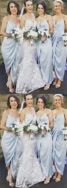Satin bridesmaid dresses, Spaghetti bridesmaid dresses, New arrival bridesmaid dresses, Cheap bridesmaid dresses, Prom dresses,PD190140