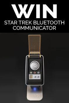 Win a Bluetooth Star Trek Communicator worth $229.99
