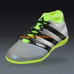 on sale f8d91 39423 Venta caliente Botas De futbol sala Adidas Ace 16.3 Primemesh IN Para  Hombre La Plata Metalica. Zapatillas ...