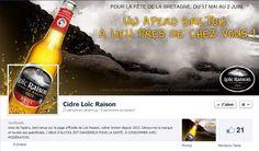 Cidre Loic Raison : l'apéro breton près de chez vous ^^