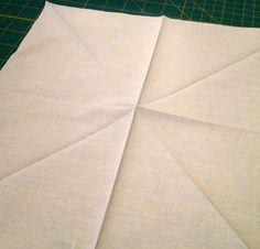 Somerset Star Tutorial 1 Small Sewing Projects, Sewing Hacks, Sewing Tips, Star Quilt Blocks, Star Quilts, Somerset, Stephane Rolland, Yohji Yamamoto, Star Cushion