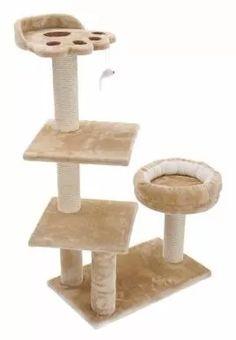 gimnasios para gatos, rascador, juguete movil, cama- oferta