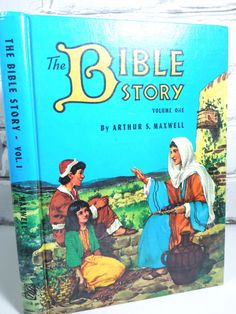 Vintage Children's Book  The Bible Story by Moonlightdecorator, $15.00