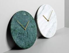 Fancy - Marble Wall Clock by Menu