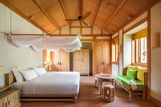 Six Senses Deluxe Suite at Six Senses Qing Cheng Mountain, China. http://www.sixsenses.com/resorts/qing-cheng-mountain/accommodation/suites