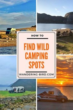 Wild Camp in the UK with a motorhome or campervan for free! How to wild camp in a motorhome or campervan. Tips and hacks for finding the perfect wild camping spots for your road trip. Wild camping is fun- this guide will help you get it all figured out. Diy Camping, Camping Ideas, Camping Spots, Camping Supplies, Camping Checklist, Camping Essentials, Camping With Kids, Family Camping, Tent Camping