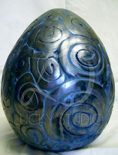 dragon egg | Dragon Egg with Pattern Sculpture -Lucky Studio