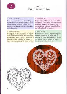Irish Crochet, Crochet Motif, Crochet Stitches, Lace Tape, Bruges Lace, Bobbin Lacemaking, Stitch Braids, Lace Heart, Point Lace