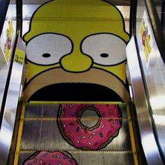 Trop la classe l'escalator