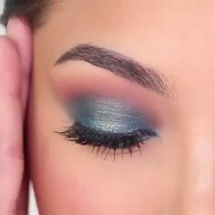 "History of eye makeup ""Eye care"", in other words, ""eye make-up"" happens to be a Glam Makeup, Purple Makeup, Beauty Makeup, Makeup With Blue Dress, Turquoise Eye Makeup, Glamorous Makeup, Gorgeous Makeup, Makeup Geek, Hair Makeup"