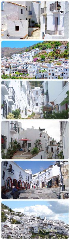 Frigiliana Town in Southern Spain