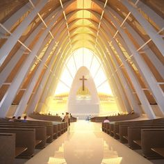Church of the Transfiguration by Dos Architects #architecture #religious-buildings