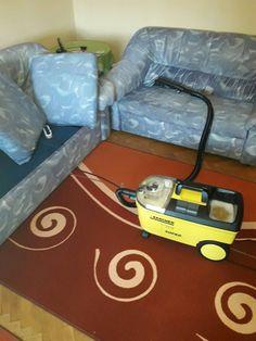Машинно пране на дивани в кв. Тракия.