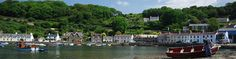 Lower Fishguard, Pembrokeshire Lower town Fishguard is a picture postcard quay with traditional seafarers cottages framing the old harbour where the River Gwaun meets the end of its journey into the sea. It was the centrepoint of the failed French invasion in 1797