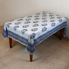Mantel Rectangular 152 X 228 del verano indio decoraciones florales algodón: Amazon.es: Hogar