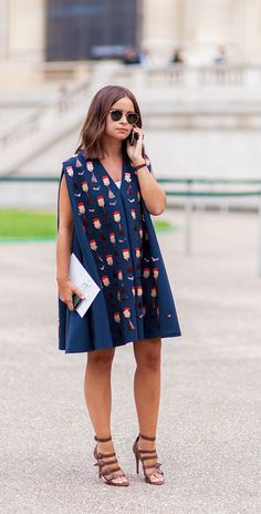 The Leg-Slimming Secret Miroslava Duma Swears By via @WhoWhatWear