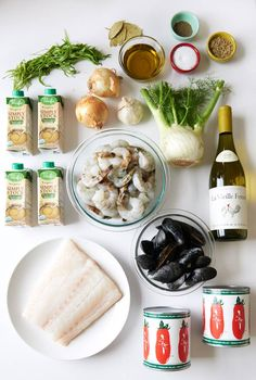 Here's what you'll need: How To Make A Seafood Stew To Warm Every Heart It's called Italian Seafood Stew, Seafood Soup, Seafood Dishes, Fish And Seafood, Fish Dishes, Fish Recipes, Seafood Recipes, Cooking Recipes, Soup Recipes