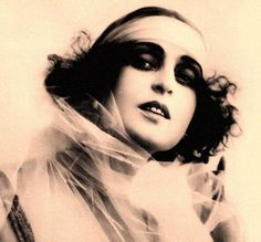 Giuseppa Iolanda Menichelli (10/1/1890-19/8/1984), known as Pina Menichelli, was an Italian actress and silent film star. After a career in theatre and a series of small film roles, Menichelli was launched as a film star when Giovanni Pastrone gave her the lead role in 'Il Fuoco', 1915.