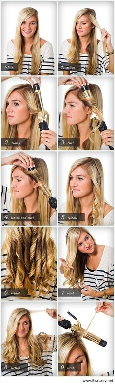 How to curl your hair - BeaLady.net