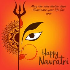 Happy Navratri HD images photos, messages, quotes wishes and greetings - social lover Navratri Wishes Images, Happy Navratri Wishes, Happy Navratri Images, Dasara Wishes, Navratri Greetings, Dussehra Images, Durga Images, Hanuman Images, Durga Painting