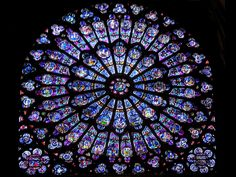Notre Dame de Paris (various architects and designers)-  This Gothic style architecture captures the incoming light to bring life to otherwise shadowy cathedrals in Medieval Europe. I really like this design because of the beautiful blue stain glass and the pattern of each pane. (MEDIEVAL)